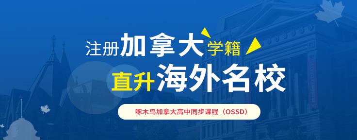"""""""加拿大OSSD国内预科项目"""""""